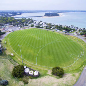 Barwon Heads oval renovation