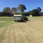 Geelong turf management with the Turfmach